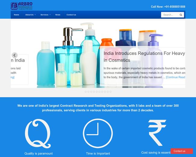 Arbro Pharmaceuticals Ltd.