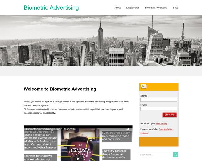Biometric Advertising