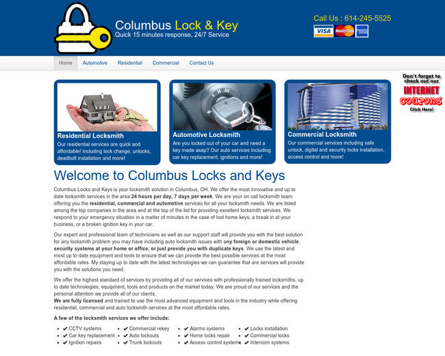 Columbus locks&keys