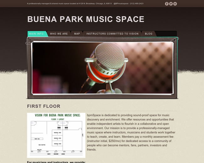 Buena Park Music Space