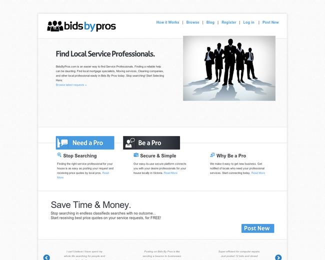 Bids By Pros