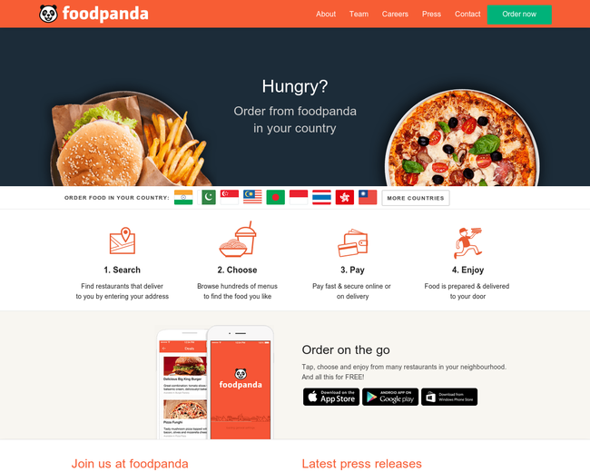 foodpanda group