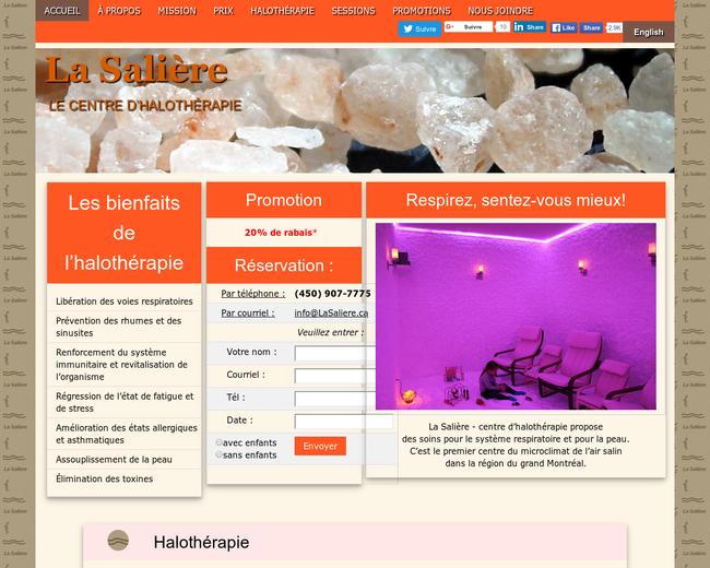 La Salière - Le Centre d'Halothérapie