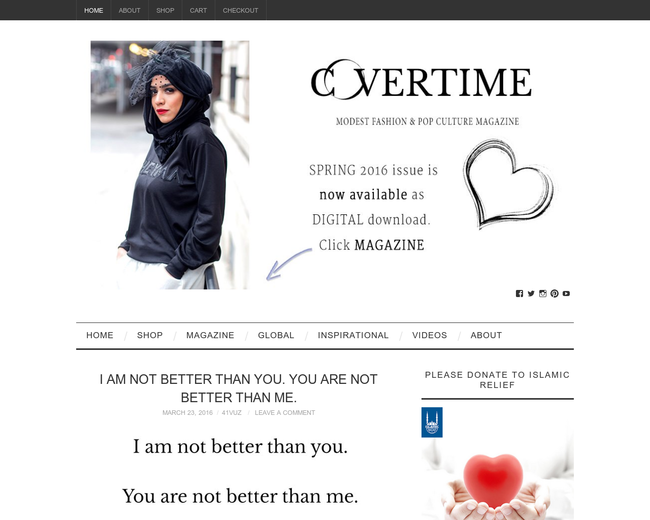 Covertime Magazine
