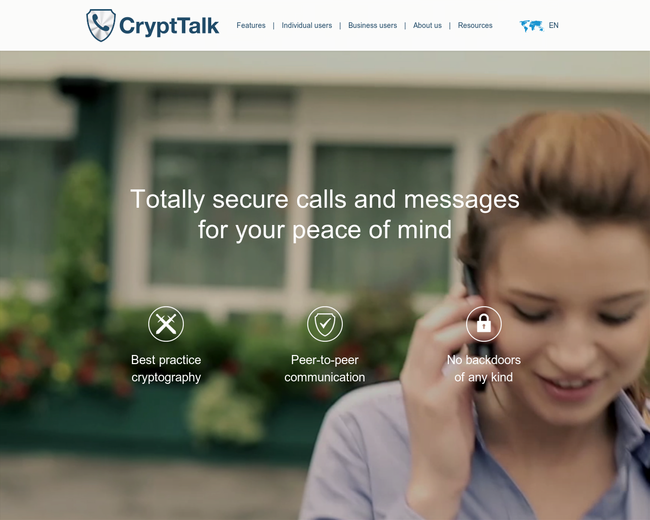 Arenim Technologies - CryptTalk