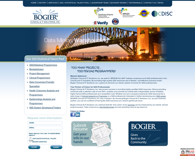 Bogier Clinical and IT Solutions