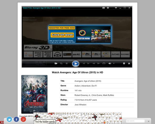 Avengers Age of Ultron online FULL MOVIE