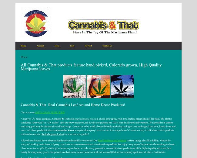 Cannabis & That