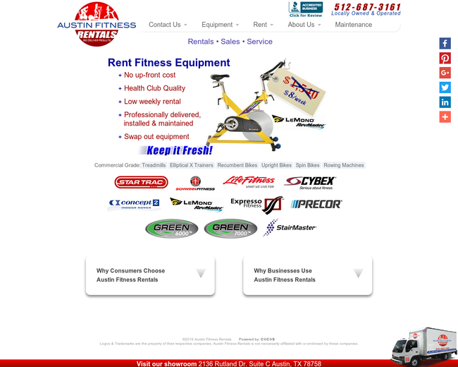 Austin Fitness Rentals