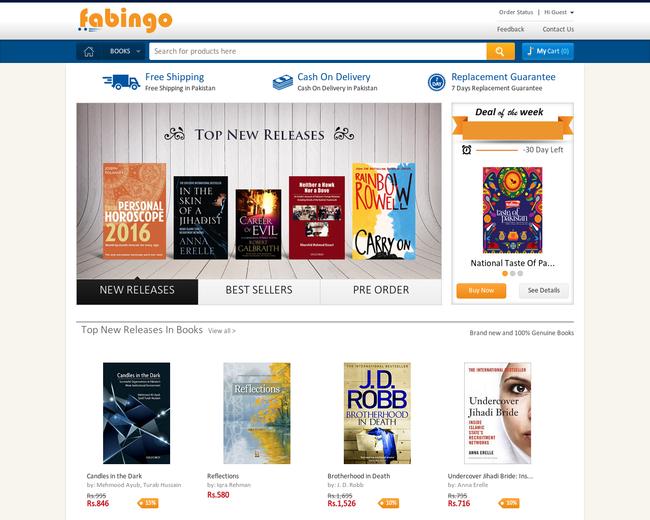Fabingo - Online Book Store
