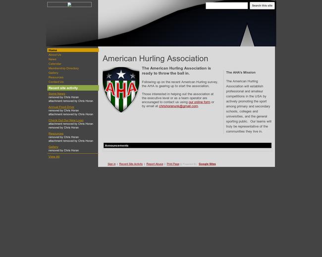 American Hurling Association