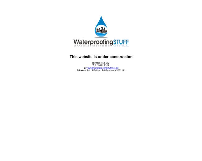 WaterproofingSTUFF