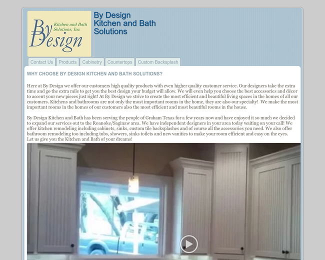 By Design Kitchen and Bath Solutions