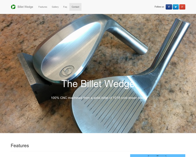 Billet Wedge