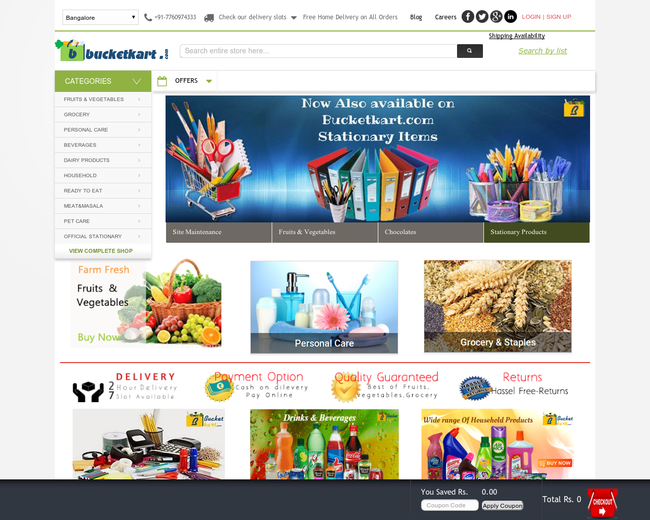 Bucketkart Online Services