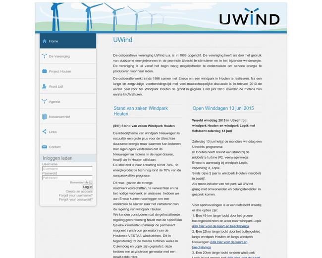 Cöoperatieve vereniging Uwind u.a.