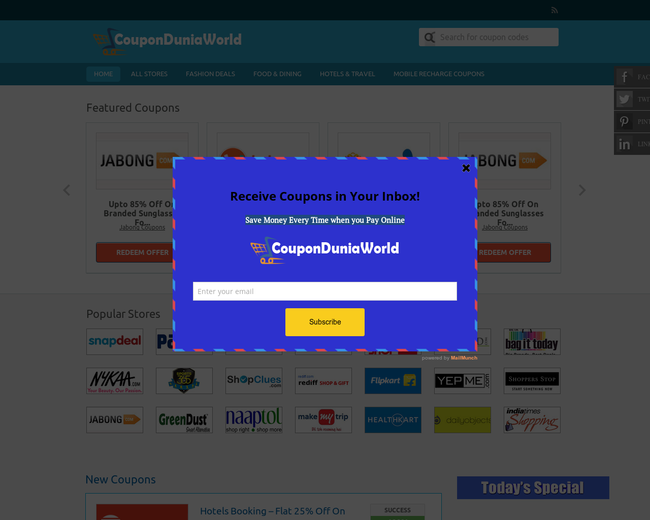 CouponDuniaWorld