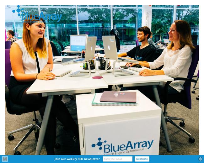 Blue Array