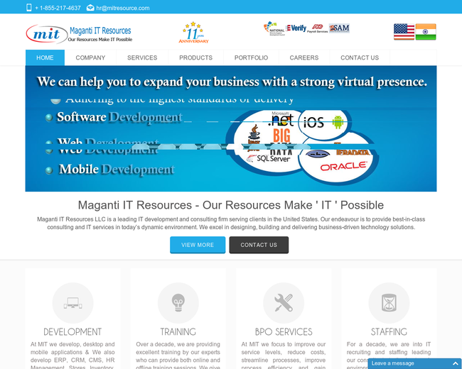 Maganti IT Resources