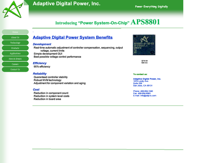 Adaptive Digital Power