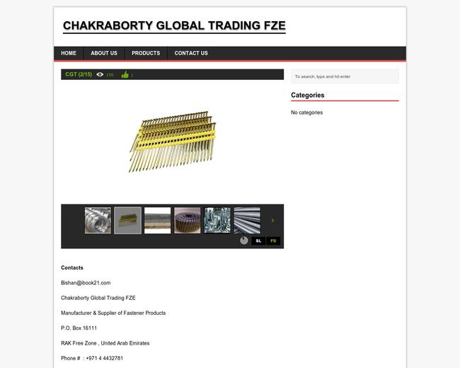 Chakraborty Global Trading FZE