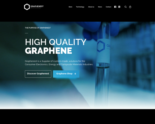 Graphenest - Advanced Nanotechnology