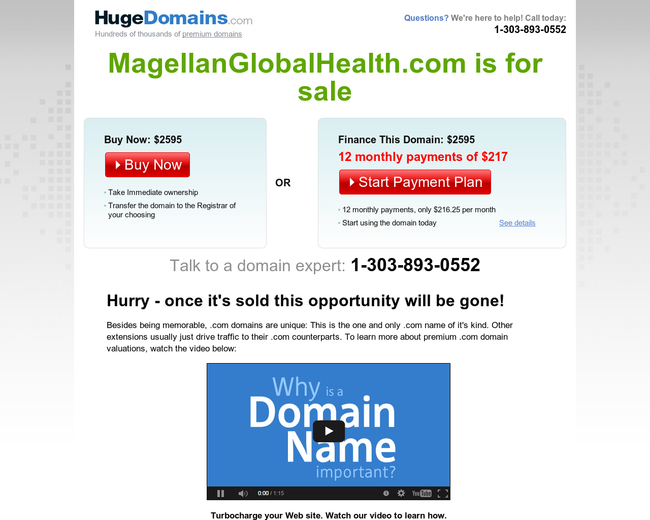 Magellan Global Health