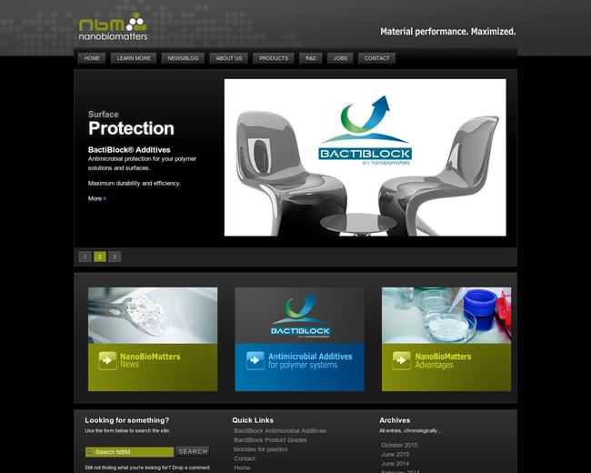 Nanobiomatters Industries