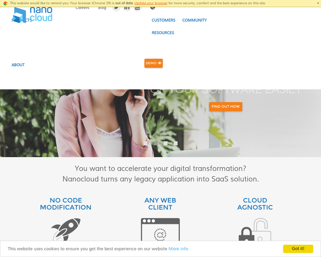 Nanocloud Software