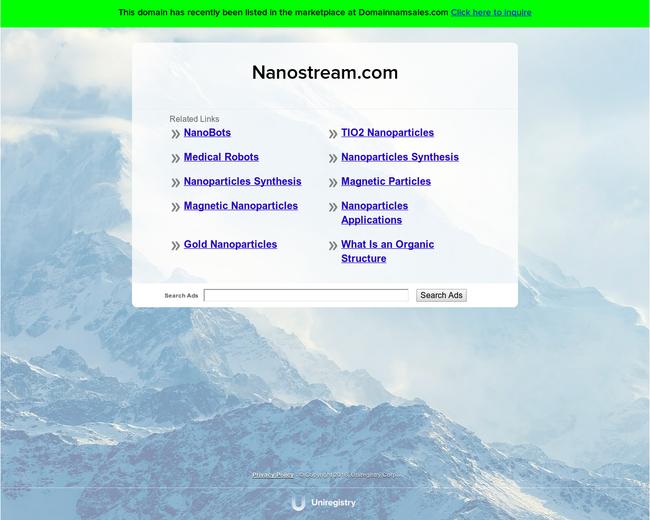 Nanostream Inc.