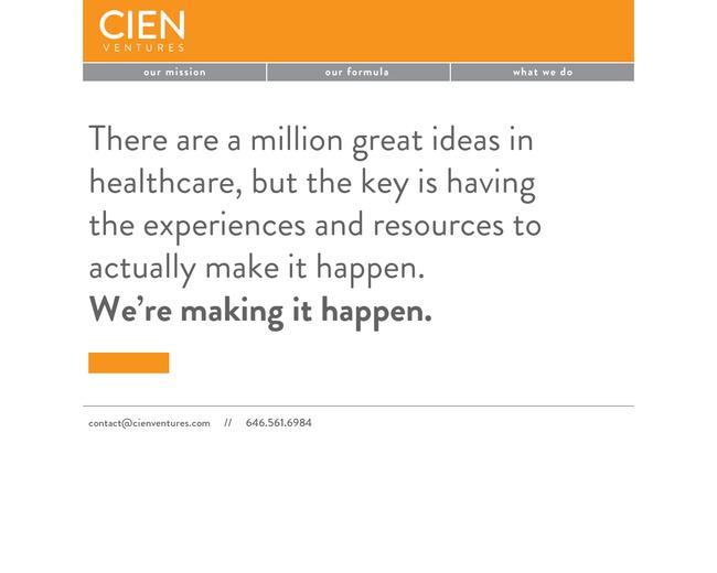 Cien Ventures
