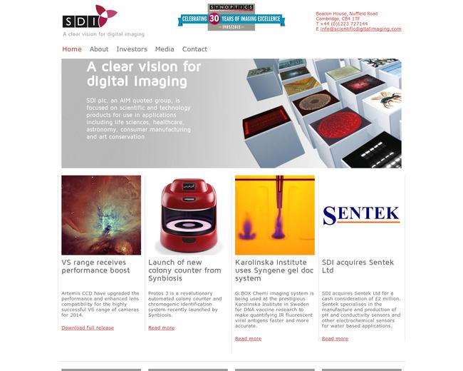 Scientific Digital Imaging (SDI)