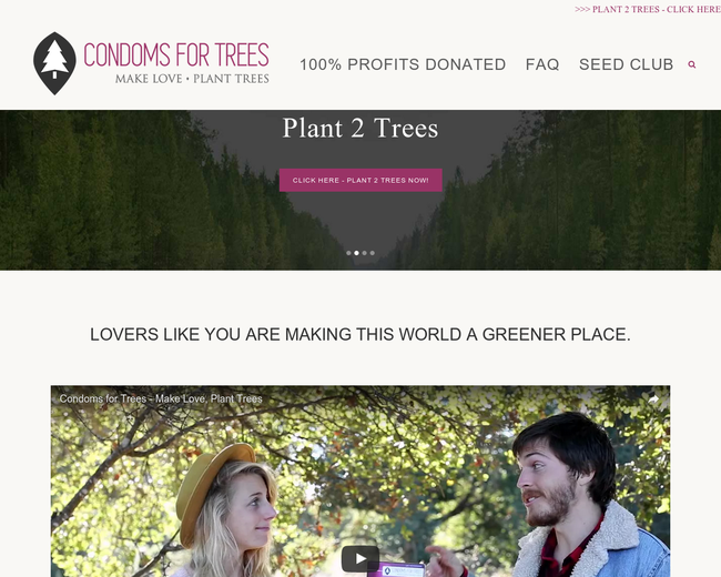 Condoms for Trees