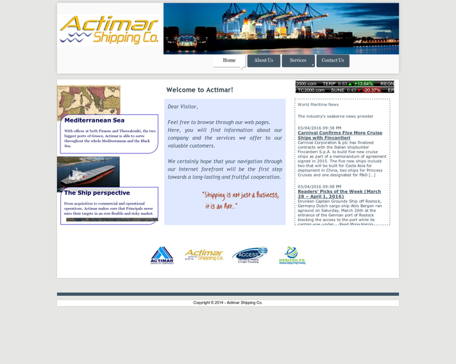 Actimar Shipping Co.