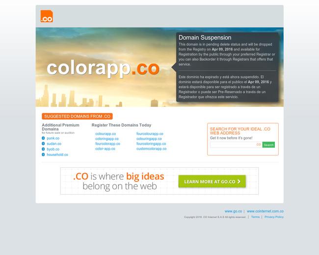 colorapp.co