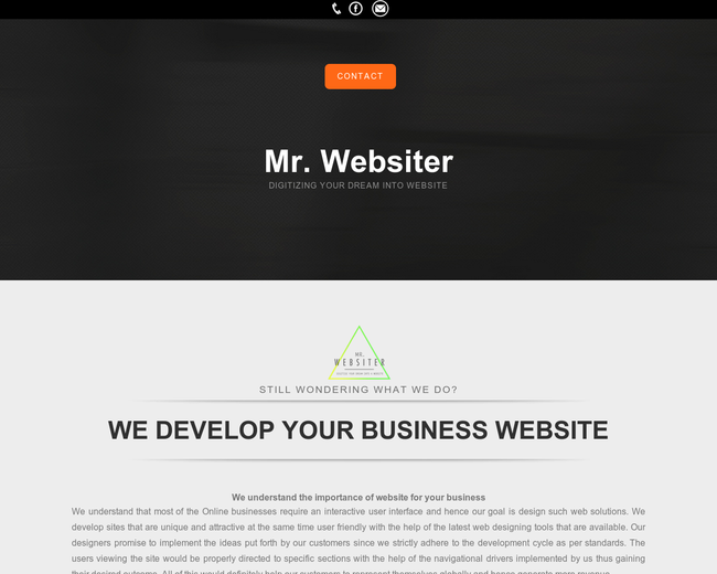 Mr Websiter