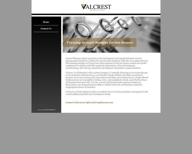 Valcrest Pharmaceuticals
