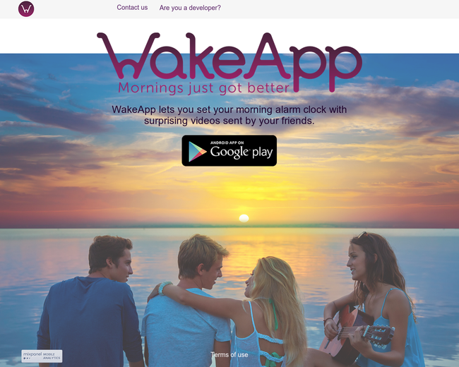 WakeApp - Mornings just got better