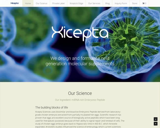 Xicepta Sciences