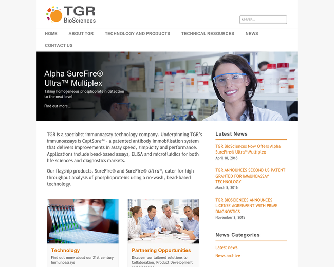 TGR BioSciences