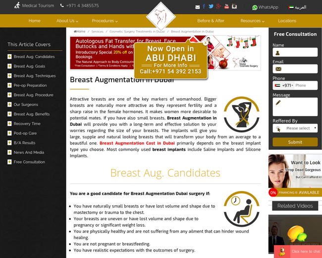Breast Augmentation In Dubai