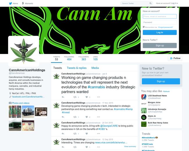 Cann American Holdings