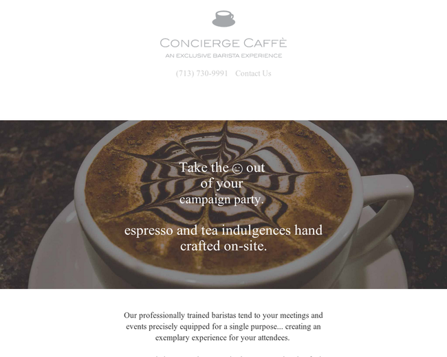 Concierge Caffe
