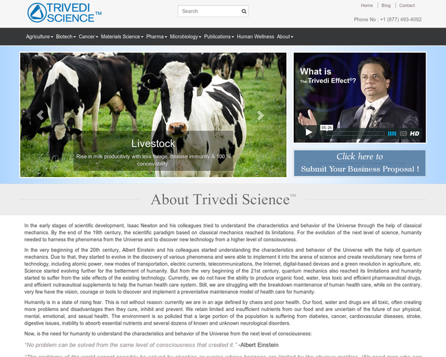 Trivedi Science Research And Experiments