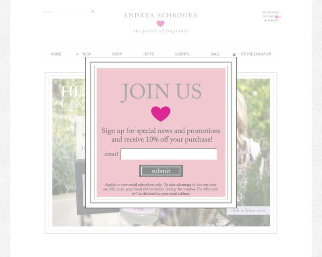 Andrea Schroder Candles & Fragrances