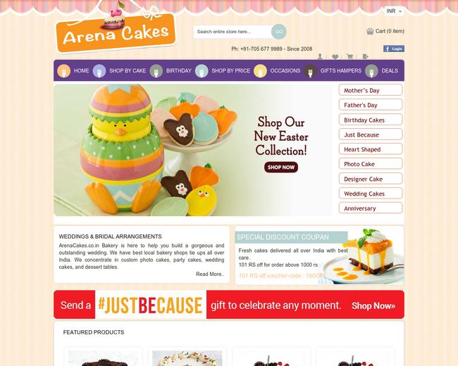 Arena Cakes