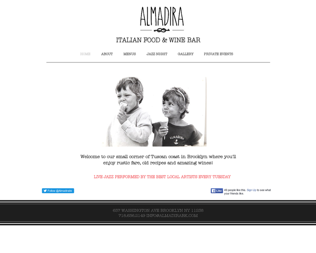 Almadira Brooklyn Wine Bar & Event Space