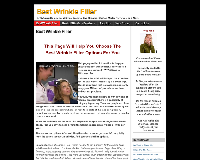 Best Wrinkle Fillers