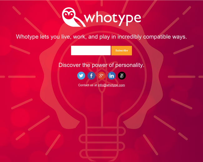 WhoType