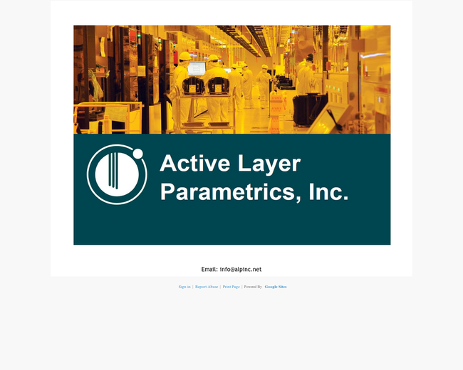 ACTIVE LAYER PARAMETRICS